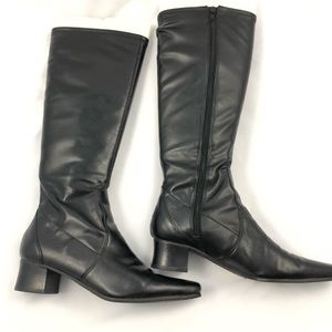 Enzo Angiolini Tall Black Boots Size 6.5